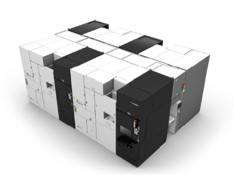 Nanoimprint lithographic cluster system (conceptual image) (Photo: Business Wire)