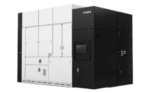 The nanoimprint semiconductor production system currently under development (Photo: Business Wire)