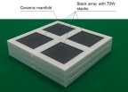Next-generation SOFC stack with Printed Fuel Cell(TM) for existing apartments (Graphic: Business Wire)