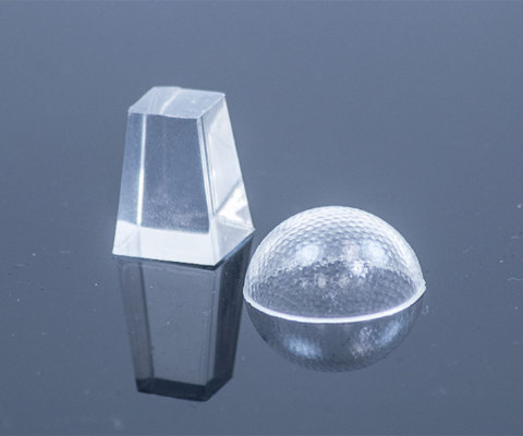 Optical liquid silicone rubber parts like lenses work particularly well for lighting applications due their clarity, durability and scratch resistance. (Photo: Business Wire)