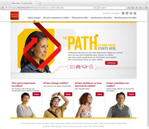 Nuevo sitio Web Path to Good Credit (El camino hacia un buen crédito) (Graphic: Business Wire)