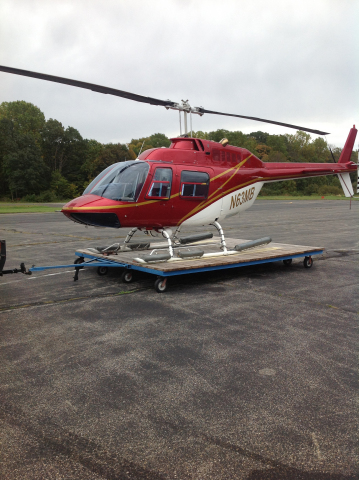 BGE will be using this Catalyst Aviation helicopter to inspect electric transmission equipment (Photo: Business Wire)