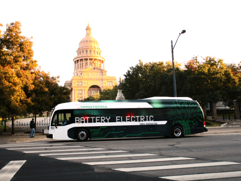 Leading zero-emissions EV bus manufacturer Proterra's buses have logged nearly 1,000,000 miles in revenue service in cities across the U.S. (Photo: Business Wire)