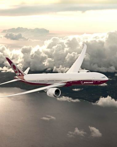 The 777X is Boeing's newest family of twin-aisle airplanes that builds on the passenger-preferred and market-leading 777. (Photo: Boeing)