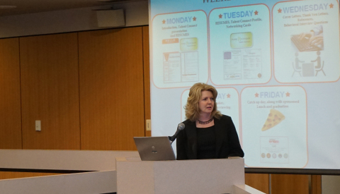 Virginia Gronley, Axalta Learning and Development Advisor, Presents to Macomb County Commissioners o