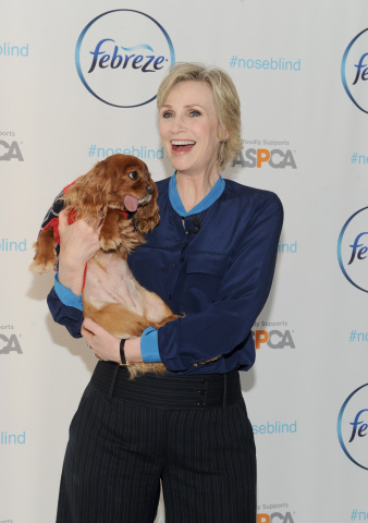 Jane Lynch, with Instagram star, Toast Meets World, partners with Febreze to educate pet owners abou