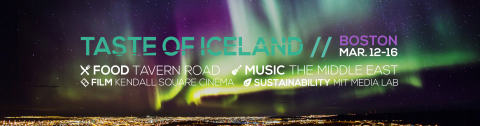 Iceland Naturally's acclaimed cultural festival returns to Boston this March! Enjoy five days of Icelandic food, music, film & sustainability events during Taste of Iceland in Boston March 12-16. (Graphic: Business Wire)