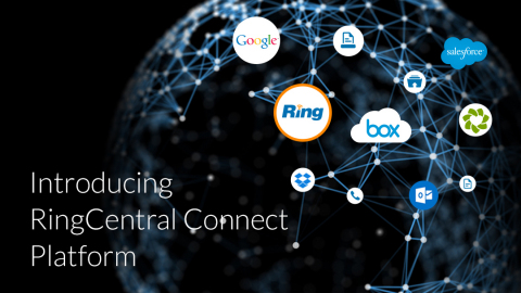 RingCentral Opens Platform to Bring Cloud Communications to Business Applications (Graphic: Business Wire)