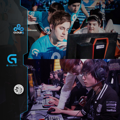 Logitech G Extends Relationship with Top eSports Teams, Cloud9 and Team SoloMid (Graphic: Business Wire)