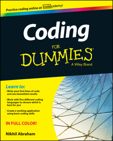 Coding For Dummies with online exercises developed by Codecademy (Photo: Business Wire)