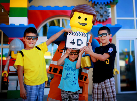 MERLIN ENTERTAINMENTS ANNOUNCES NEW 4D FILM BASED ON THE LEGO(R) MOVIE(TM) FROM WARNER BROS. TO LAUN ...