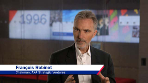 Francois Robinet, chairman of AXA Strategic Ventures (Photo: Business Wire)