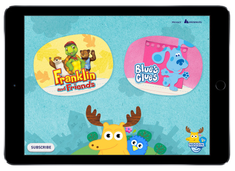 Pictured: Noggin is a new mobile subscription service for preschoolers from Nickelodeon. Photo Credi
