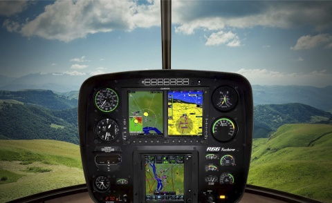 Garmin G600 and GTN 750 avionics (Photo: Business Wire)