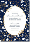 Floral Trellis wedding invitation by Mindy Weiss for Wedding Paper divas (Graphic: Business Wire)