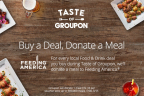 Taste of Groupon - Celebrating the Fine Art of Food (Graphic: Business Wire)