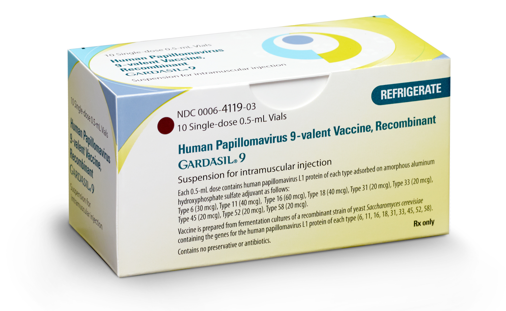 Mercks 9 Valent HPV Vaccine GARDASILR9 Recommended By CDCs