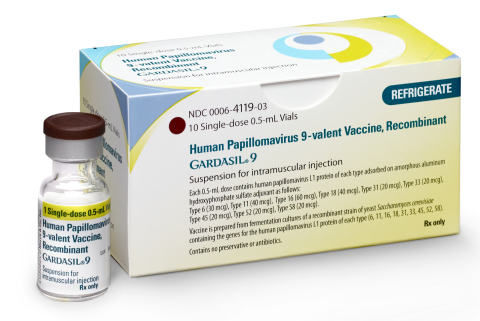 GARDASIL 9 Package and Vial (Photo: Business Wire)
