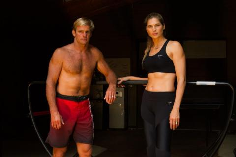 Laird Hamilton and Gabrielle Reece Introduce TotalWave Fitness (Photo: Business Wire)