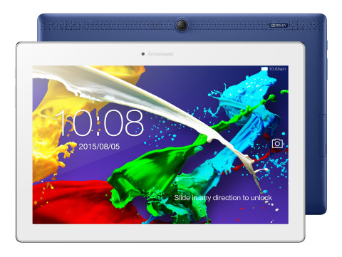 Lenovo TAB 2 A10-70. (Photo: Business Wire)