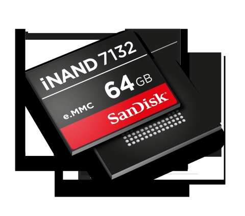 SanDisk's New, Best-in-Class Embedded Flash Drive with Innovative Storage Architecture Enables 1Gb Per Second or Higher Data Transfer Speed on Demand (Photo: Business Wire)