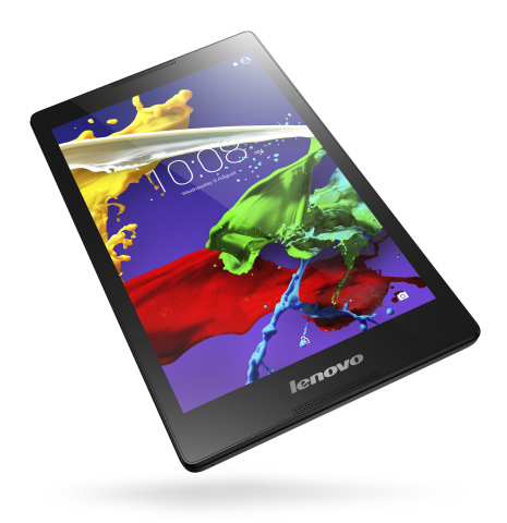 Experience Dolby Atmos over headphones on the Lenovo TAB 2 A8 (Photo: Business Wire)