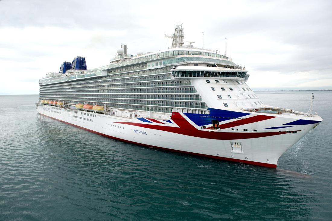 PO Cruises Celebrates Britannia Naming Ceremony Featuring Her - Britannia cruise ship