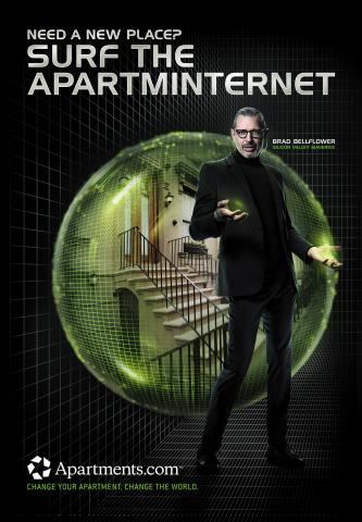 Jeff Goldblum as Brad Bellflower (Graphic: Business Wire)