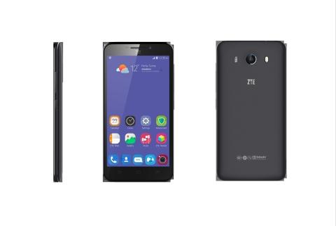 iF設計獎獲獎手機中興Grand S3——全球首批搭載Eyeprint ID™解決方案的智慧型手機之一(照片:美國商業資訊)