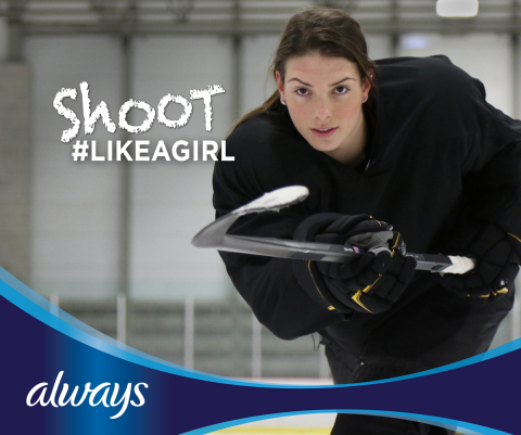 This International Women's Day, Olympic female hockey star Hilary Knight encourages girls everywhere