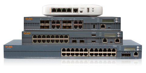 Aruba Networks 7000 series Cloud Services Controllers (Photo: Business Wire)