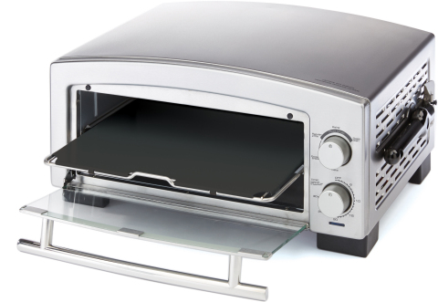The BLACK+DECKER 5 Minute Pizza Oven and Snack Maker is set to debut at the 2015 International Home + Housewares Show (Photo: Business Wire)