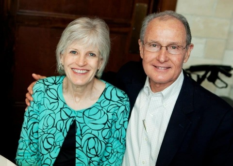 Houston resident Debbie Bertrand, pictured here with her husband Larry, is one of many Celltex clients who has seen vast improvements in quality of life after adult stem cell therapy. (Photo: Business Wire)
