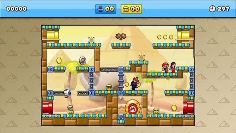 Mario vs. Donkey Kong: Tipping Stars launches for Wii U and Nintendo 3DS on March 5. (Photo: Business Wire)