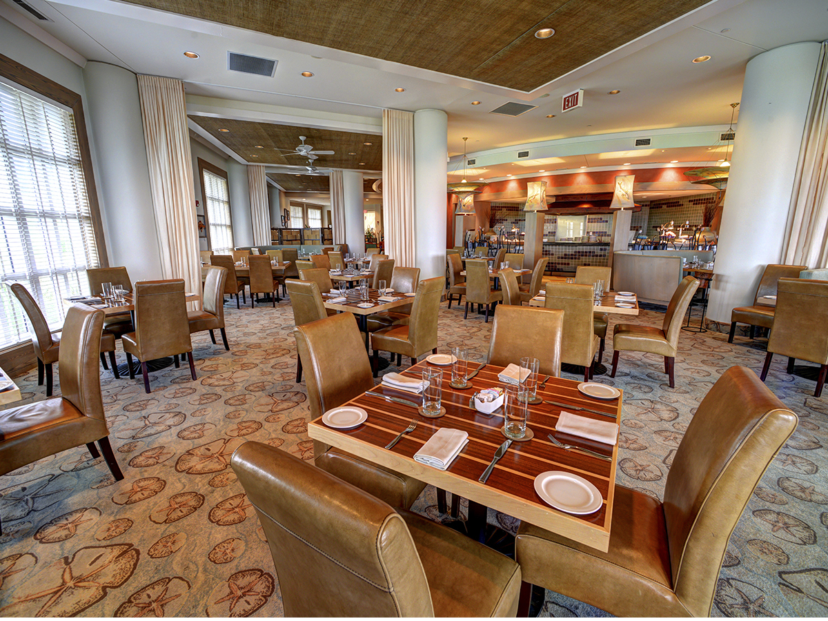 Forbes travel guide awards four star ratings to two st for Fish out of water restaurant