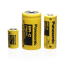 BR series cylindrical lithium primary batteries mounted in
