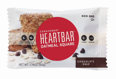 New Heartbar™ Oatmeal Squares with Protanica® Non-GMO Plant Sterol will Debut at Natural Products Expo West (Photo: Business Wire)