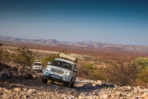 In March 2015: 17 Delticom online shops invite you for spectacular off-road adventures in Namibia. (Photo: Business Wire)