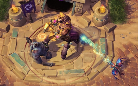 Heroes of the Storm, currently in closed beta testing, is an online team brawler featuring iconic heroes from more than 20 years of Blizzard gaming history. (Graphic: Business Wire)