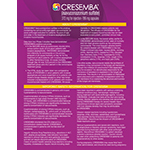 CRESEMBA product fact sheet