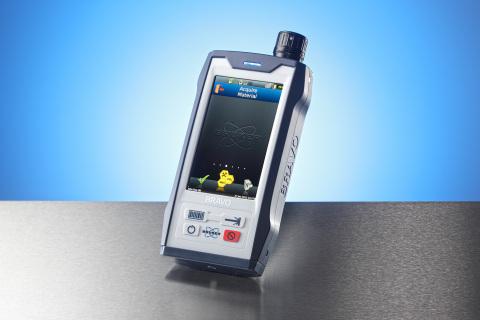 Handheld Raman spectrometer BRAVO (Photo: Business Wire)
