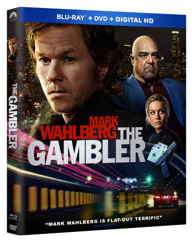Mark Wahlberg Stars in the High-Stakes Thriller THE GAMBLER, arriving on Blu-ray Combo Pack April 28