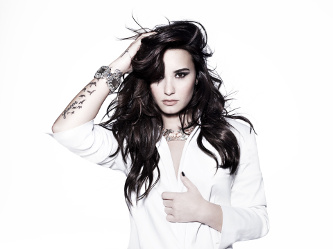 Hasbro teams up with Demi Lovato to introduce new Twister Moves line (Photo: Business Wire)