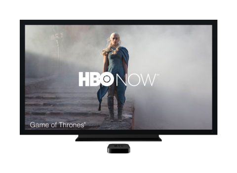 HBO NOW will be available directly to Apple customers in April. (Photo: Business Wire)