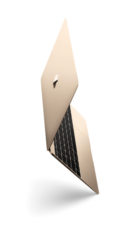 Apple today unveiled the all-new MacBook, a new line of notebooks reinvented in every way to deliver the thinnest and lightest Macs ever. (Photo: Business Wire)