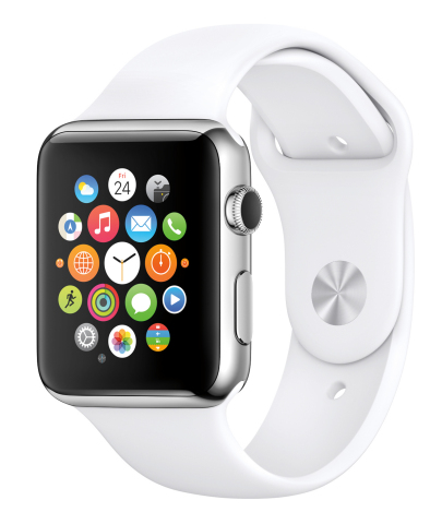 Apple Watch, Apple's most personal device yet, will be available in nine countries on April 24. (Photo: Business Wire)