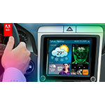 Adobe Target support for the Internet-of-Things enables marketing optimization and data-driven personalization across any Internet connected device like car dashboards and game consoles. (Graphic: Business Wire)