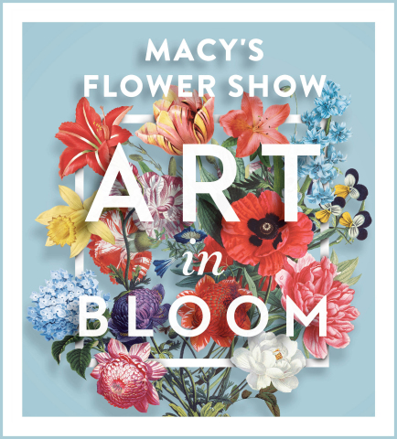 Macy's Flower Show presents Art in Bloom, a floral spectacle blooming from March 22 through April 4 in New York, Philadelphia, Minneapolis, Chicago and San Francisco (Graphic: Business Wire)