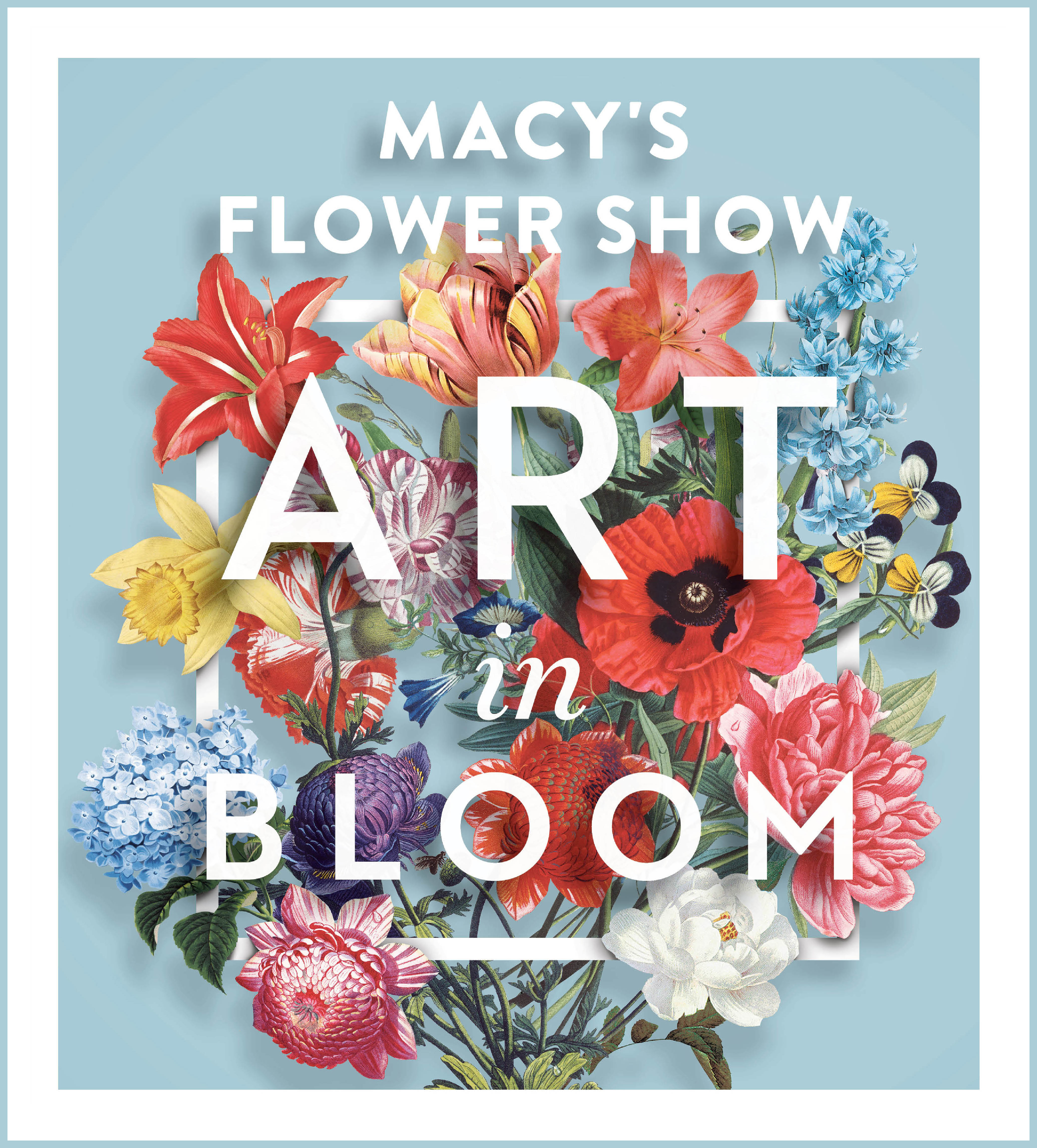 macy s flower show presents art in bloom business wire