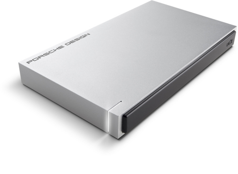 LaCie Porsche Design Mobile Drive featuring USB-C Technology (Photo: Business Wire)